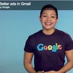 Better-Gmail-Ads Spokesperson Giving the Spiel
