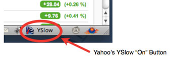 Yahoo-YSlow-On-Button